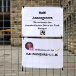 Halt Zonengrenze -Bananenrepublik