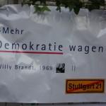 Mehr Demokratie wagen