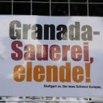 Granada-Sauerei, elende